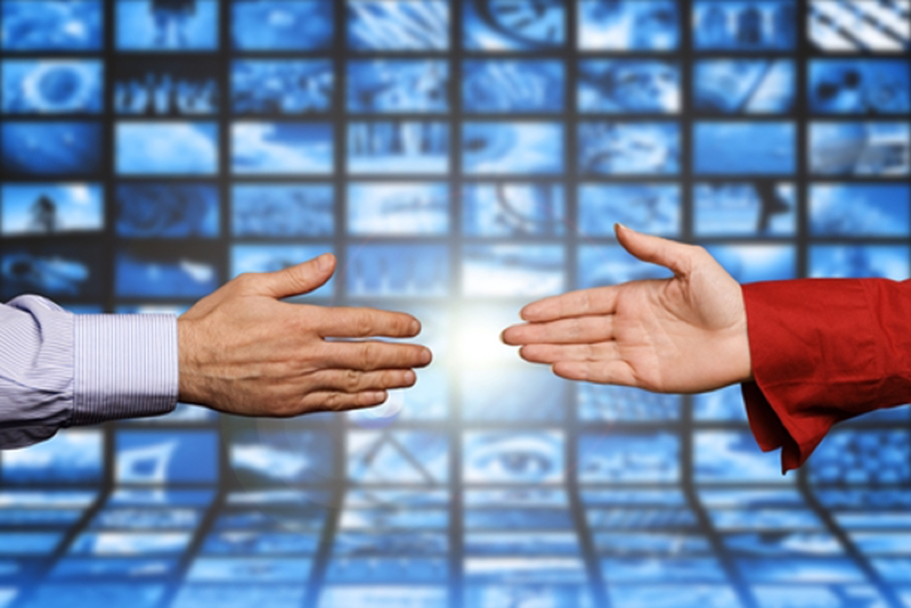 Two hands reaching toward each other microsoft