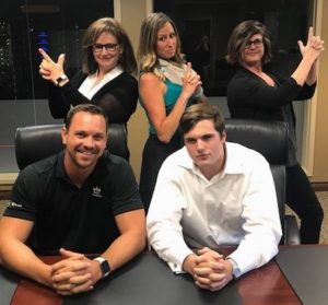 Scott Courtney and Pinnacle Business Systems team