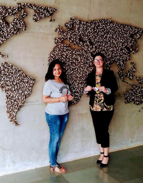 Women in STEM Kahini Sheth and Brandy Semore