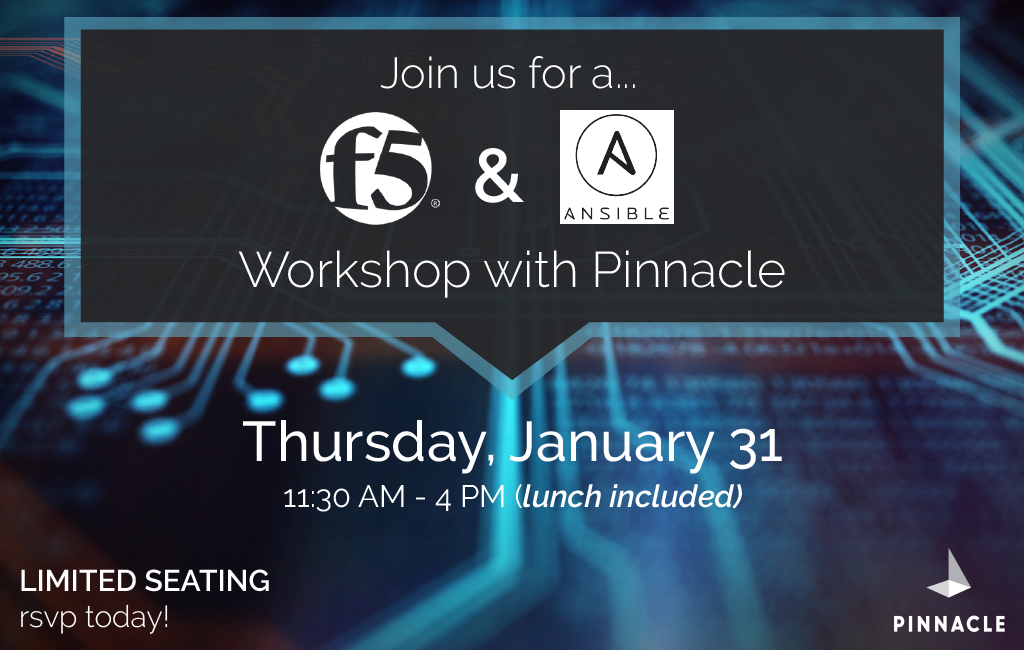 f5 and Ansible workshop