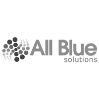 all blue gray logo