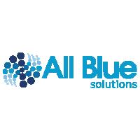 all blue logo
