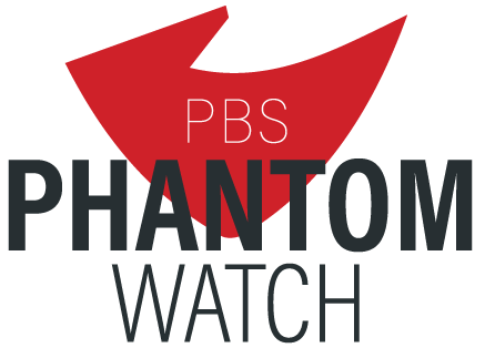 PBS PhantomWatch Logo