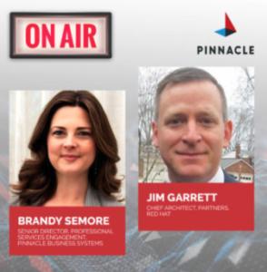 Brandy Semore and Jim Garrett podcast cover image